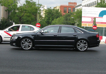 Szczęki hamulcowe przednie Audi A8 D3
