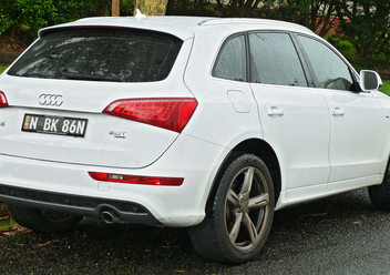 Szczęki hamulcowe tylne Audi Q5