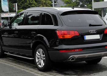 Pokrowce ochronne Audi Q7