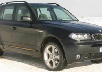 Szczęki hamulcowe tylne BMW X3 E83