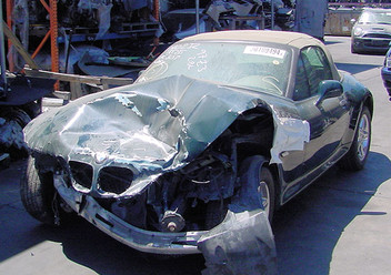 Szczęki hamulcowe przednie BMW Z3