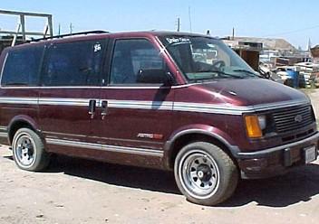 Podręczniki / Literatura / Przeglądy Chevrolet Astro