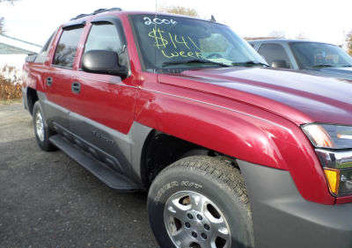 Szczęki hamulcowe tylne Chevrolet Avalanche