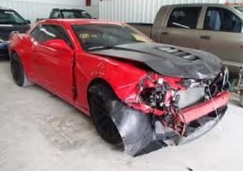Szczęki hamulcowe tylne Chevrolet Camaro IV