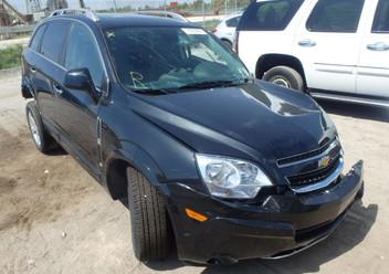 Szczęki hamulcowe tylne Chevrolet Captiva I FL