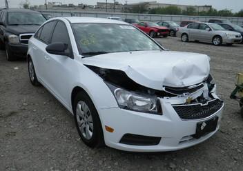 Szczęki hamulcowe tylne Chevrolet Cruze I