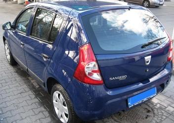 Szczęki hamulcowe przednie Dacia Sandero I