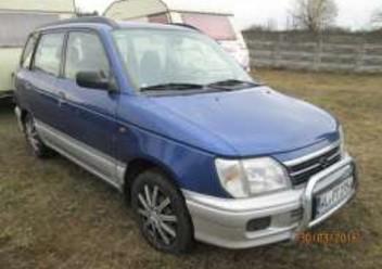 Pokrowce samochodowe Daihatsu Materia