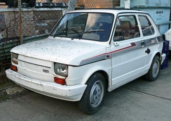 Szczęki hamulcowe tylne Fiat 126