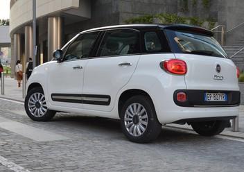 Szczęki hamulcowe tylne Fiat 500L