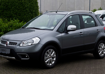 Serwo hamulca Fiat Sedici