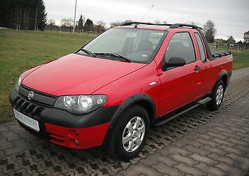 Dywaniki samochodowe Fiat Strada