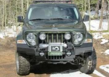 Czujnik przepływomierza powietrza Jeep Cherokee KK