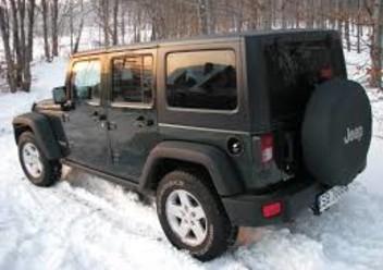 Dywaniki samochodowe Jeep Wrangler JK