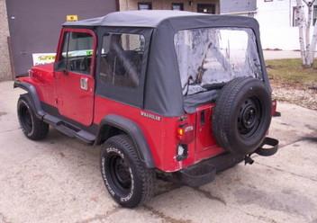 Czujnik przepływomierza powietrza Jeep Wrangler YJ