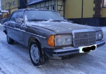 Głowica silnika Mercedes-Benz 123