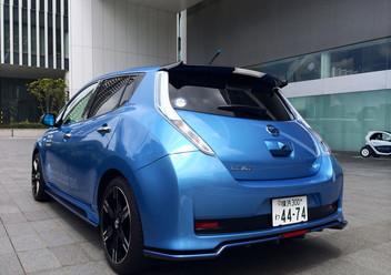Koszulki fotelowe Nissan Leaf