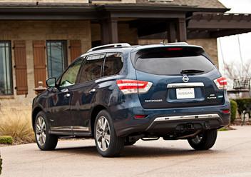Pokrowce ochronne Nissan Pathfinder IV