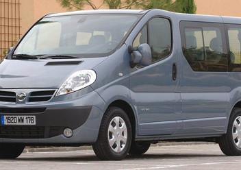 Podręczniki / Literatura / Przeglądy Nissan Primastar
