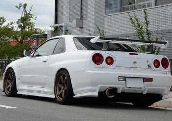 Koszulki fotelowe Nissan Skyline
