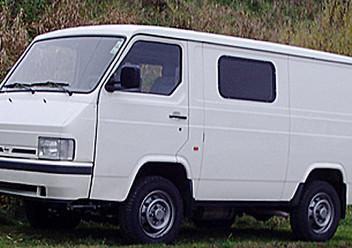 Dywaniki samochodowe Nissan Trade