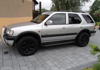 Dywaniki samochodowe Opel Frontera A