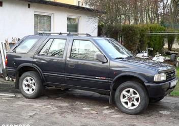Dywaniki samochodowe Opel Frontera B FL