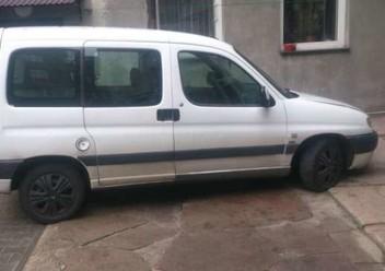 Pokrowce ochronne Peugeot Partner II FL