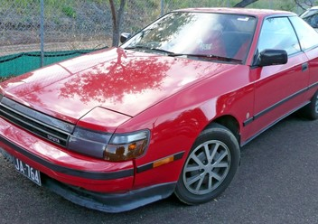 Podręczniki / Literatura / Przeglądy Toyota Celica T16