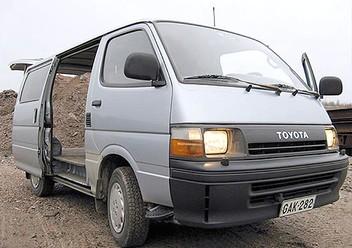 Dywaniki samochodowe Toyota Hiace