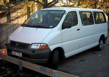 Pokrowce ochronne Toyota Hiace