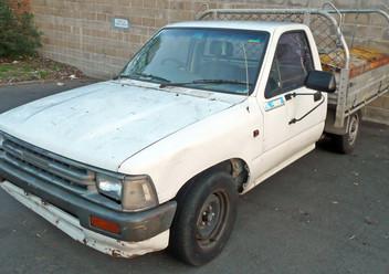 Podręczniki / Literatura / Przeglądy Toyota Hilux V