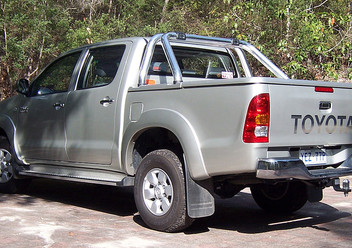 Podręczniki / Literatura / Przeglądy Toyota Hilux VII